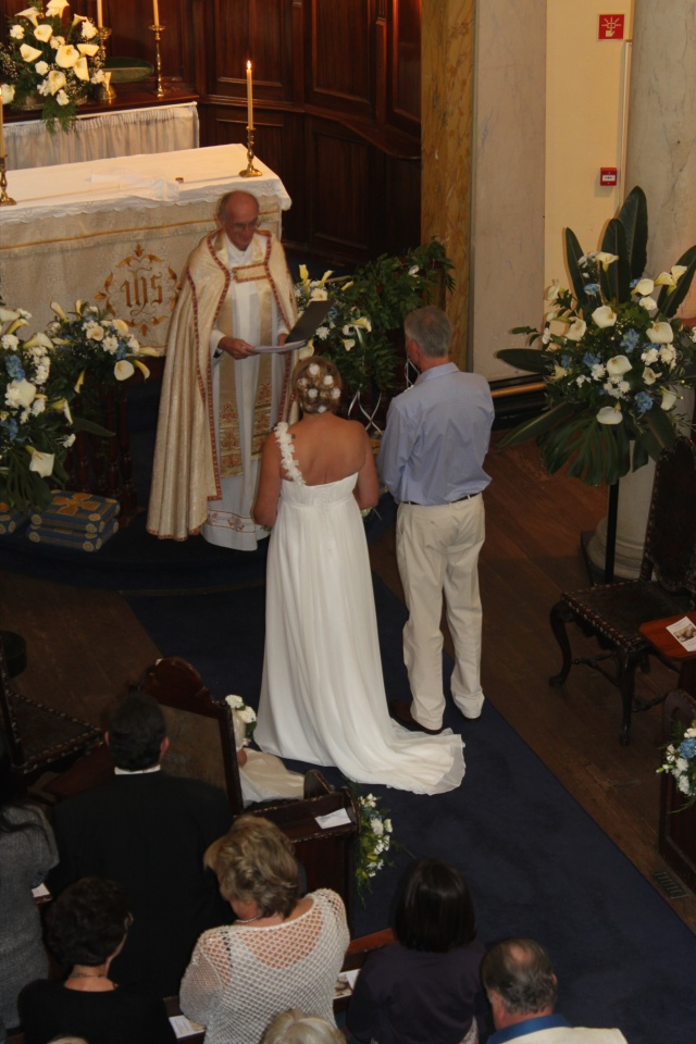 Bride and Groom altar