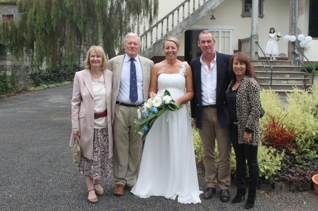 Bride & Guests