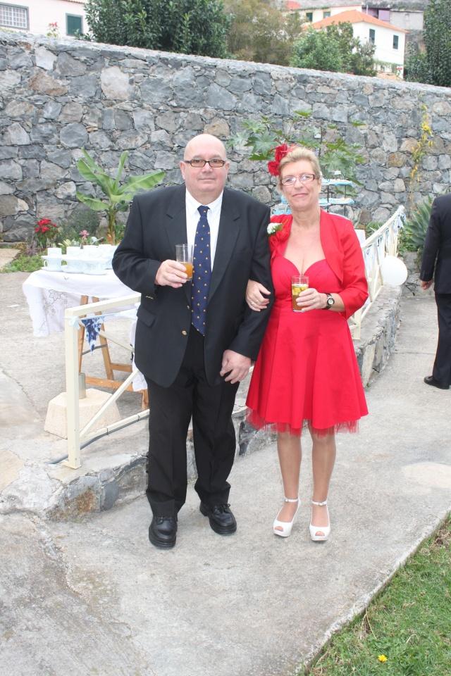 Guests Sarah and husband