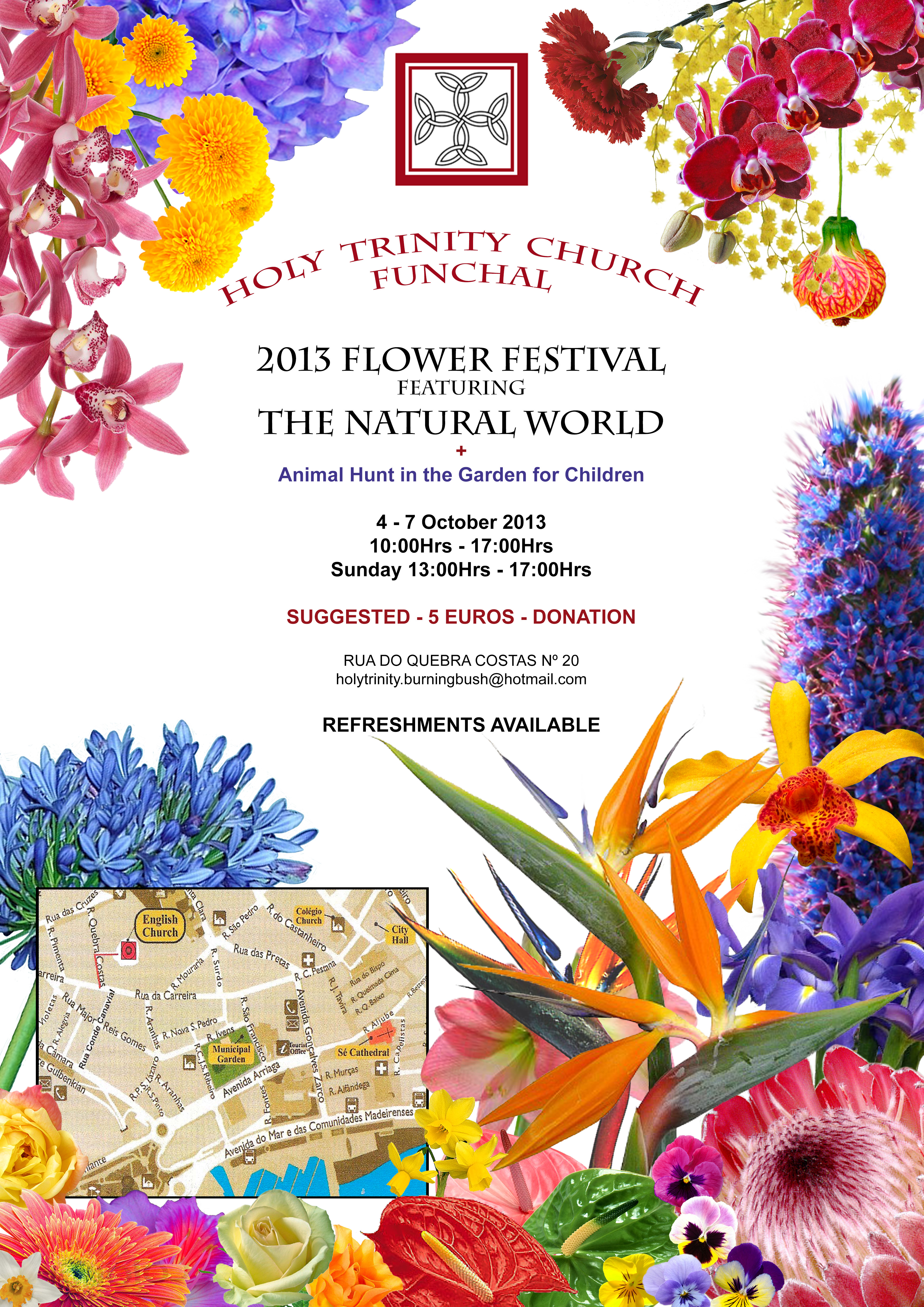 2013 Holy Trinity FLOWER FESTIVAL – posters in English and ...