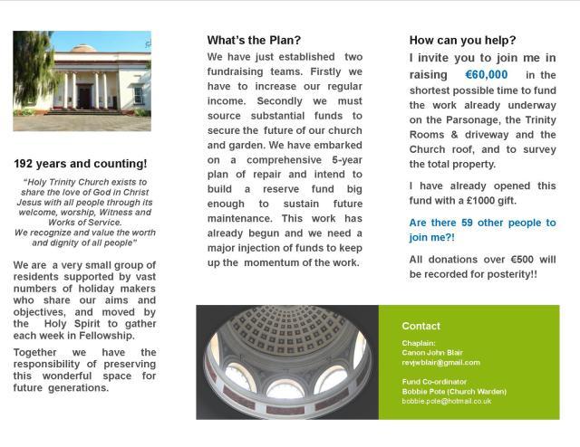 Fundraising leaflet 2