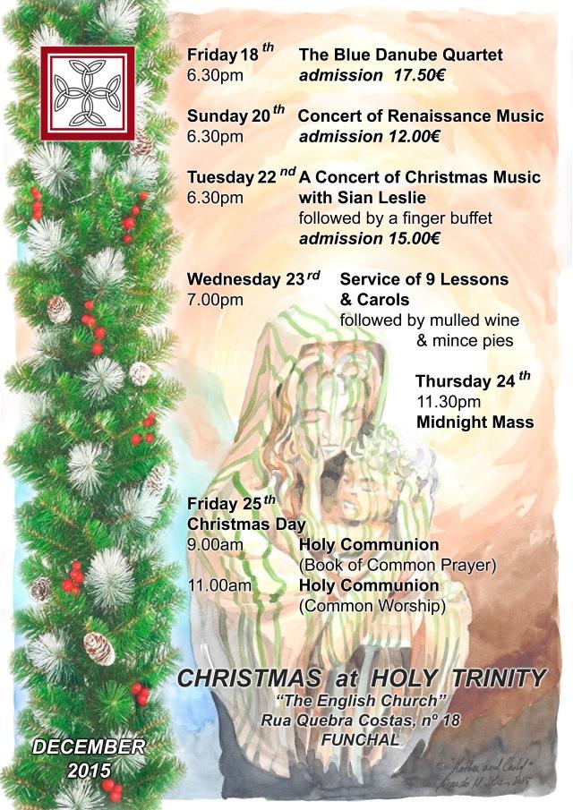 Cartaz Natal 2015 Igreja Inglesa